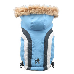 SWISS ALPINE SKI VEST - BLUE (Hip Doggie)