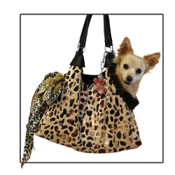 Dog Tote Pet Carrier - Tan