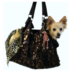 Dog Tote Pete Carrier - Black