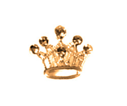 Charm - Gold Crown